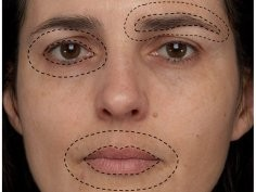 Porcheron A, Mauger E, Russell R (2013) Aspects of Facial Contrast Decrease with Age and Are Cues for Age Perception. PLoS ONE 8(3): e57985. doi:10.1371/journal.pone.0057985