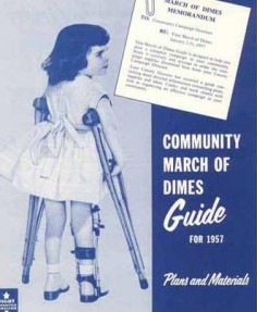Plakat March of Dimes Foundation